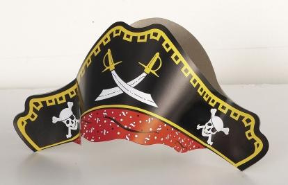 Piraadimütsid (4 tk)