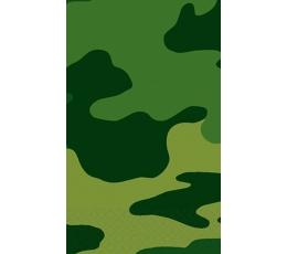 """Plastiklaudlina """"Sõjaline kamuflaaž"""" (137x259 cm)"""