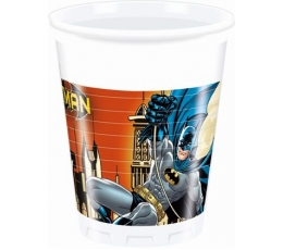 "Plastiktopsid ""Batman (8 tk./200 ml)"