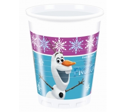 "Plastiktopsid ""Frozen"" (8 tk./200 ml)"