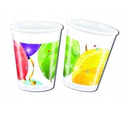 """Plastiktopsid """"Õhupallid"""" (8 tk./200 ml)"""