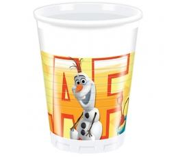 """Plastiktopsid """"Olafi suvi"""" (8 tk / 200 ml)"""