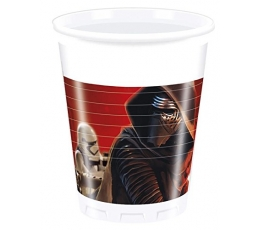 "Plastiktopsid ""Star Wars"" (8 tk./200 ml)"