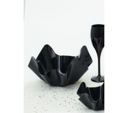 Plastikust kauss, must (22,5x12 cm)