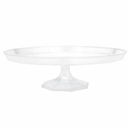 Plastikust läbipaistev koogialus (29,2cm)