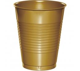 Plastikust topsid, kuldsed (20 tk)