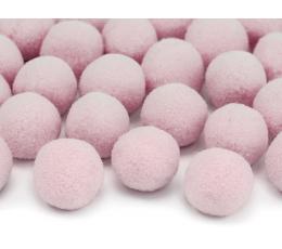 Plüüsist pallid/dekoratsioon, roosad (2 cm/20 tk.)