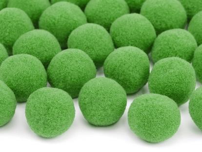 Plüüsist pallid/dekoratsioonid, roheline (2 cm/20 tk.)