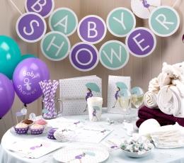 """Pokaalikaunistused """"Baby Shower Vihmavarjud"""" (10 tk) 1"""