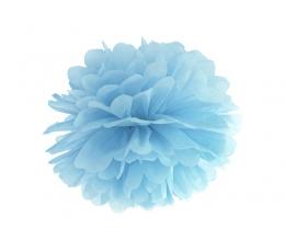 Pom pom pall, heledam sinine 35cm/1tk