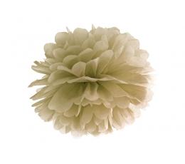 Pom pom pall, kuldne (35 cm)