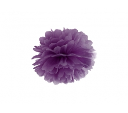 Pom pom pall, lilla (25 cm)