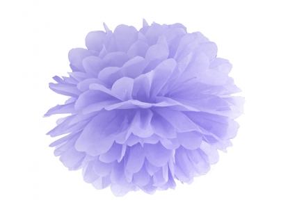 Pom pom pall, lilla (35 cm)