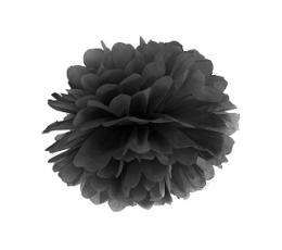 Pom pom pall, must  (35 cm)