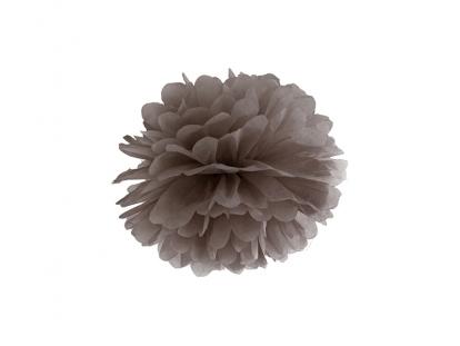 Pom pom pall, pruun  (25 cm)