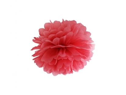 Pom pom pall, punane  (25 cm)