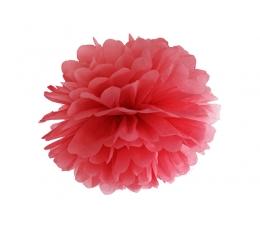 Pom pom pall, punane  (35 cm)