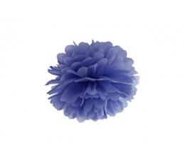 Pom pom pall, tumesinine (25 cm)
