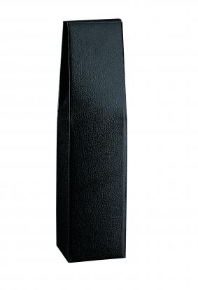 Pudelikarp, must - naha immitatsiooniga (9X9X37 cm)