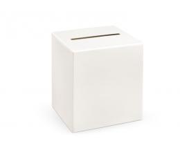 Raha/soovide kast, valge