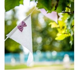 Riidest lippude vanik, roosa (2,8 m)