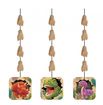 """Riputatav dekoratsioon """"Dinosaurus Dino"""" (3 tk.)"""