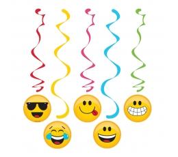 """Riputatav dekoratsioon """"Emojions"""" (5 tk.)"""