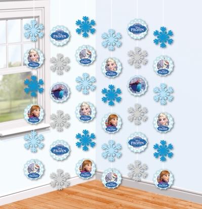 "Riputatav dekoratsioon ""Fozen"" (6 tk./1,5 m)"