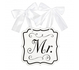 """Riputatav dekoratsioon-plaat """"Mr."""" (24x25 cm)"""