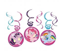 """Riputatav dekoratsioon """"Minu väike poni"""" (6 tk.)"""