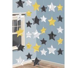 """Riputatav dekoratsioon""""Holliwoodi tähed"""""""