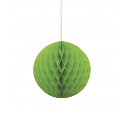 Riputatav paberist pall, salatiroheline (20 cm)