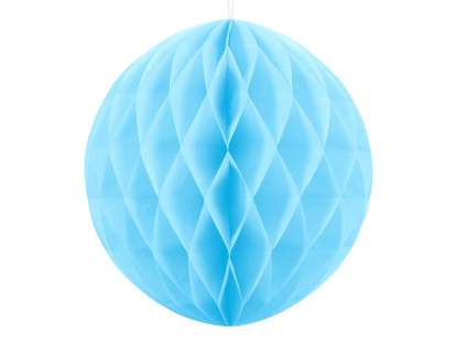 Riputatav paberist pall, sinine (20 cm)