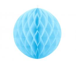 Riputatav paberist pall, sinine (30 cm)