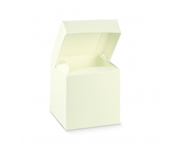 Ristkülikukujuline valge karp (10x10x15 cm)