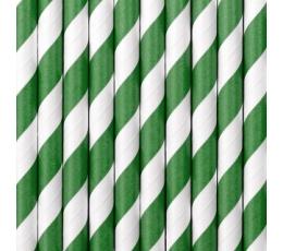 Rohelised, laia triibuga kõrred (10 tükki