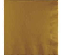 Roosakad kuldsed salvrätikud (50 tk)