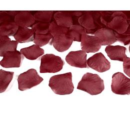 Roosi kroonlehed, tumepunased (tehislikud) (100 tükki)