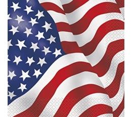 """Salvrätikud """"Ameerika"""" (16 tk.)"""