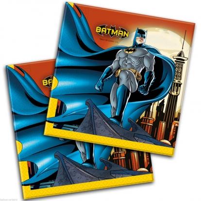 """Salvrätikud """"Batman"""" (20 tk)"""