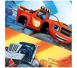 "Salvrätikud ""Blaze and the monster machines"" (20 tk.)"