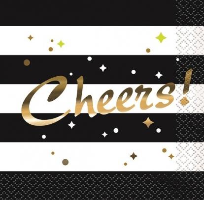 """Salvrätikud """"Cheers"""" (16 tk.)"""