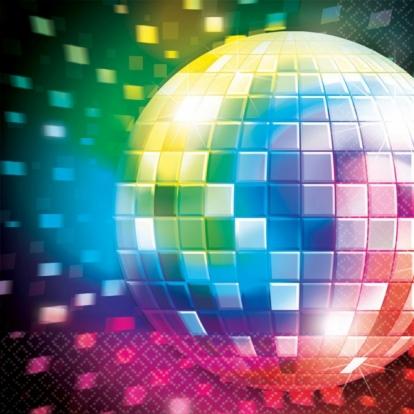 """Salvrätikud """"Disco"""" (16 tükki)"""