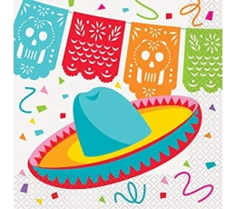 "Salvrätikud ""Fiesta Mehhikos"" (16 tk.)"