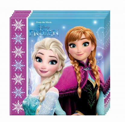 """Salvrätikud """"Frozen"""" (20 tk.)"""