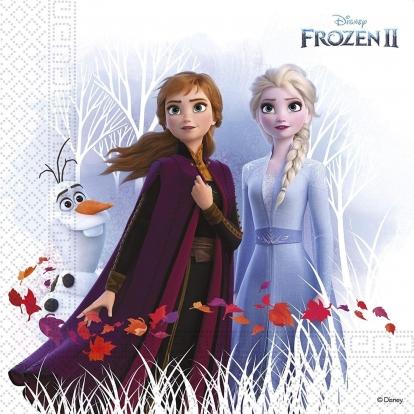 "Salvrätikud ""Frozen"", kompostitavad (20 tk.)"