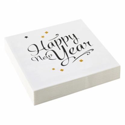 """Salvrätikud """"Head uut aastat"""" (20 tk)"""
