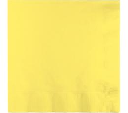 Salvrätikud  helekollane (50tk)