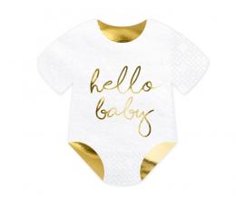"Salvrätikud ""Hello Baby"" (20 vnt./15,5x16 cm)"