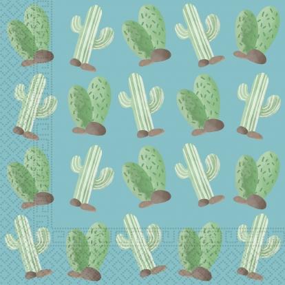 """Salvrätikud """"Kaktus"""" (20 tükki)"""